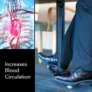 Under Desk Leg Swing - Sitting Exercise for Weight Loss, Increased Circulation