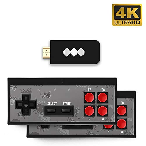 Retro Game Console: HDMI HD (Built-in 568 Classic Video Games)