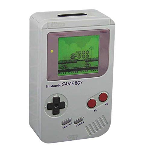 Paladone Nintendo Officially Licensed Merchandise - Classic Gameboy Bank