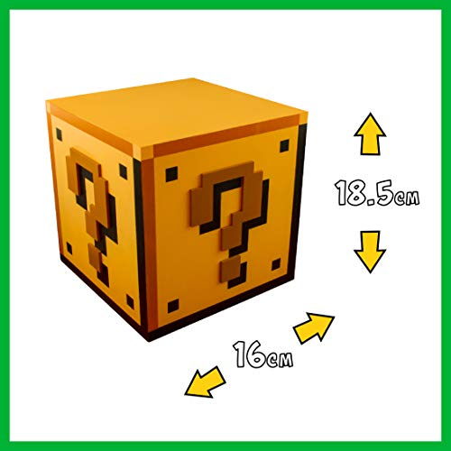 Nintendo Merchandise - Super Mario Brothers Question Block Table Lamp