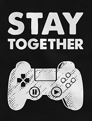 Matching Couple Hoodies Set Play Together Stay Together Funny Gamer Valentine