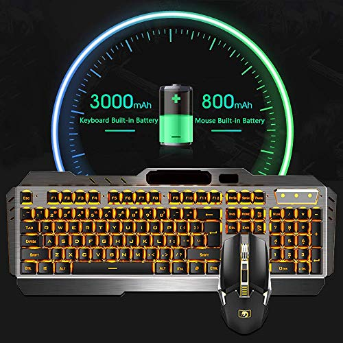 Rechargeable Keyboard & Mouse Gaming  Combo