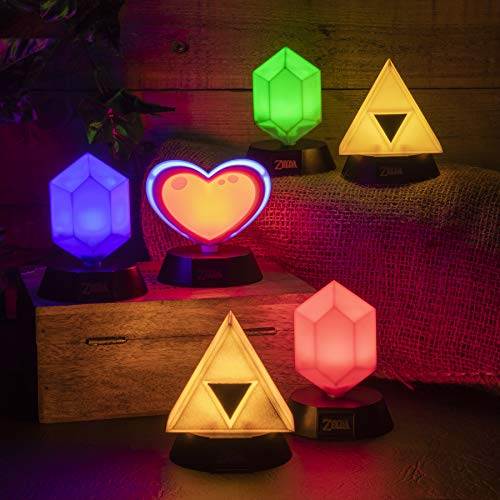 Paladone The Legend of Zelda Red Rupee 3D Collectible Light