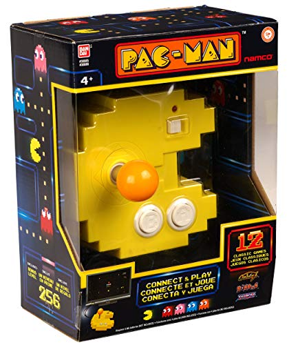 Pac-Man Connect and Play - 12 Classic Games