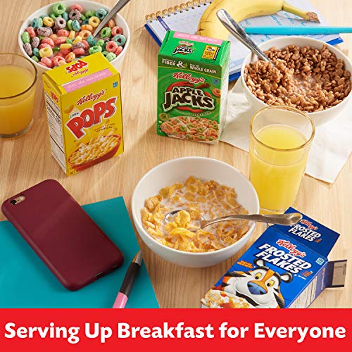 Kellogg's Breakfast Cereal - Variety Fun Pack (8 Count)