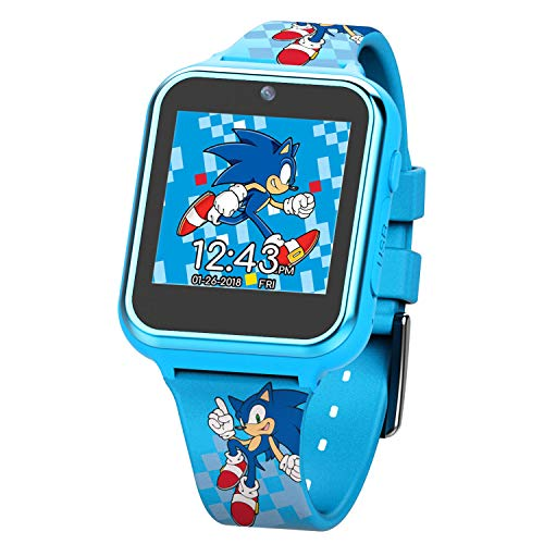Sonic the Hedgehog Touch-Screen Smartwatch, Built in Selfie-Camer