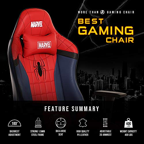 Marvel Avengers Big & Wide Heavy Duty Gaming Chair (Spider Man)
