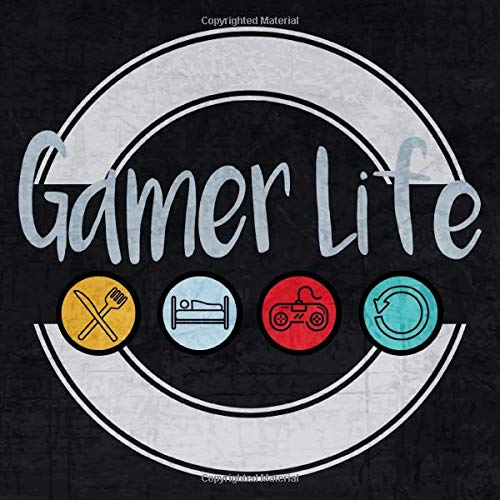 Gamer Life - Calender 2020: Cool And Funny Gaming Calender 2020, Daily Planner | 8,5 X 8.5 Inches ( 21.59 cm X 21.59 cm )
