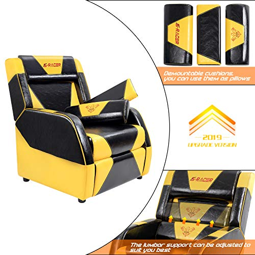 Homall Gaming Recliner Chair Living Room Sofa Single