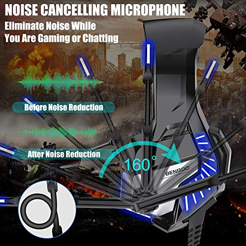 Blue BENGOO K8 Series II Gaming Headset