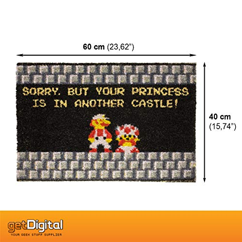 getDigital Your Princess is in Another Castle Funny Welcome Doormat
