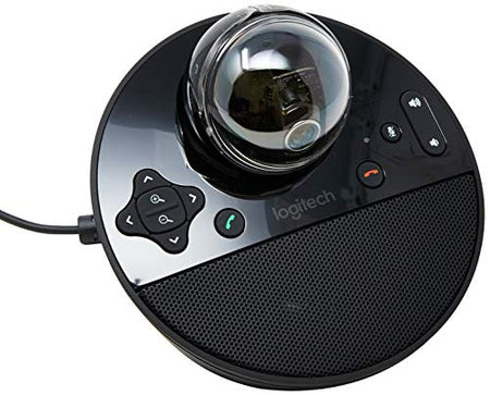 Logitech Conference Webcam, HD 1080p w/ Built-In Speakerphone