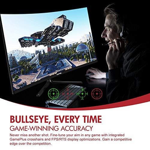 VIOTEK GNV32CBO 32-Inch 165Hz Curved Gaming Monitor