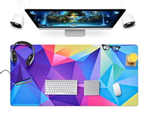 Large Gaming Mouse and Keyboard Pad