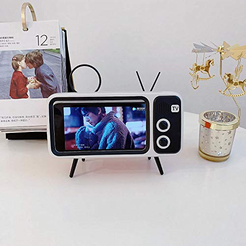 Mobile Phone Screen Stand with Speaker Function Connect by Bluetooth at Gaming Girlfriends