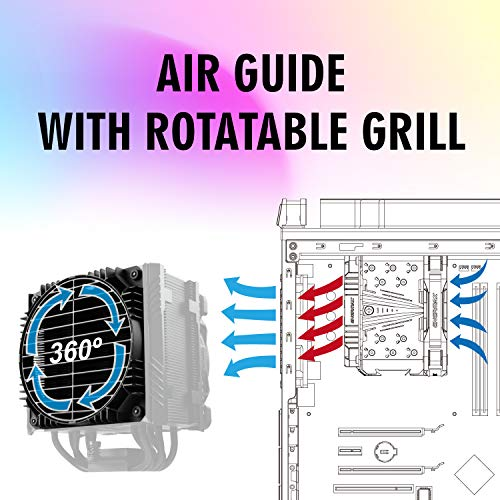 Enermax ETS-T50 Axe Addressable RGB CPU Air Cooler