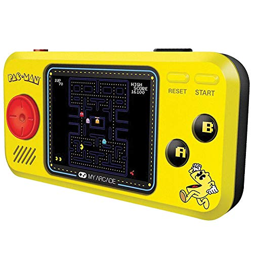 "Johnson Smith Co Pac Man Pocket Player - Handheld w/ 2.75"" Full Color"