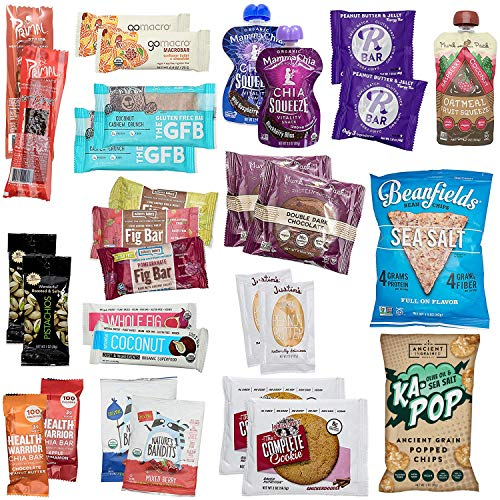 Deluxe Vegan Protein Snacks Box