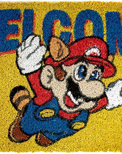 Super Mario Welcome Door Mat 60x40cm