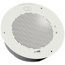 CyberData Speaker System - 10 W RMS - Signal White