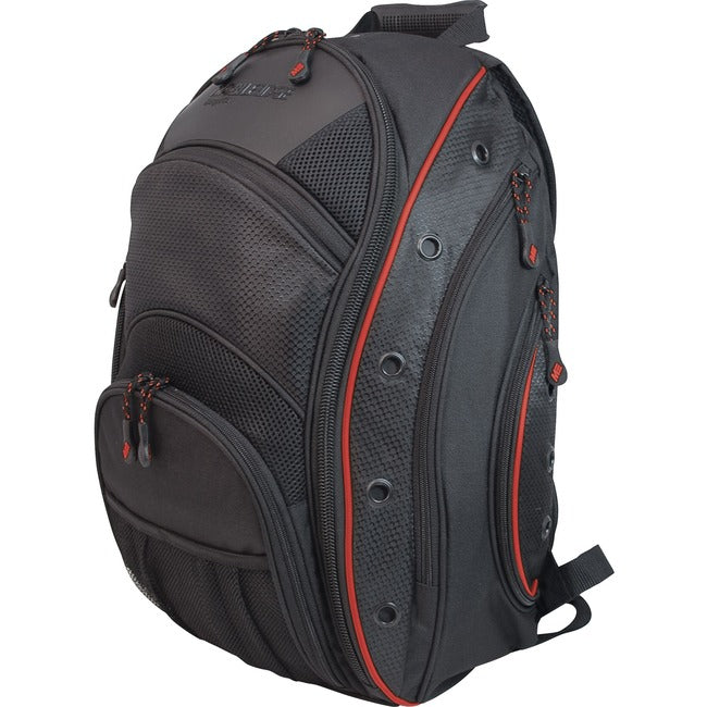 Mobile Edge EVO Laptop Backpack - Black - Red