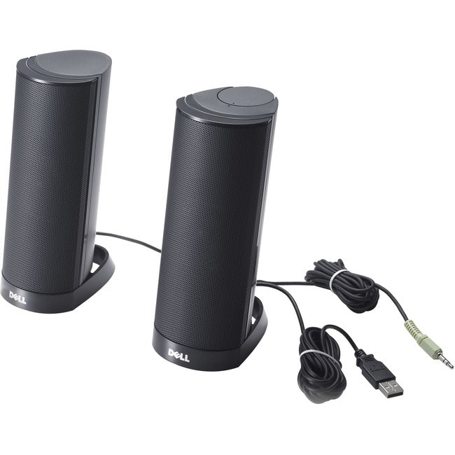 Dell-IMSourcing AX-210 Speaker System - 1.20 W RMS - Black