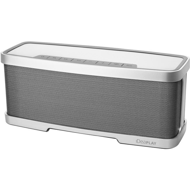 iDeaUSA iDeaPLAY W200 2.1 Portable Bluetooth Speaker System - Silver