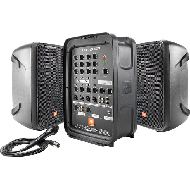 "Harman 8"" Packaged PA System With 8-channel Integrated Mixer"