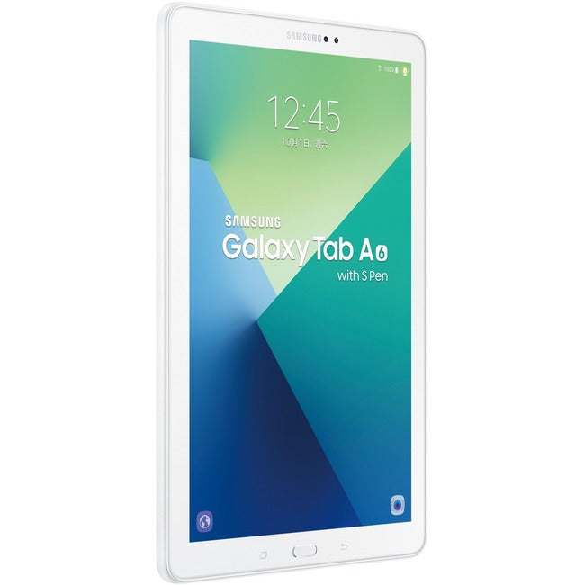 "Samsung-IMSourcing Galaxy Tab A SM-P580 Tablet - 10.1"" - 3 GB RAM - 16 GB Storage - Android 6.0 Marshmallow - Pearl White"