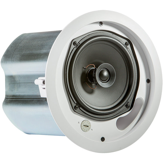 JBL Professional Control 16C-T 2-way Ceiling Mountable, Blind Mount Speaker - 100 W RMS - White