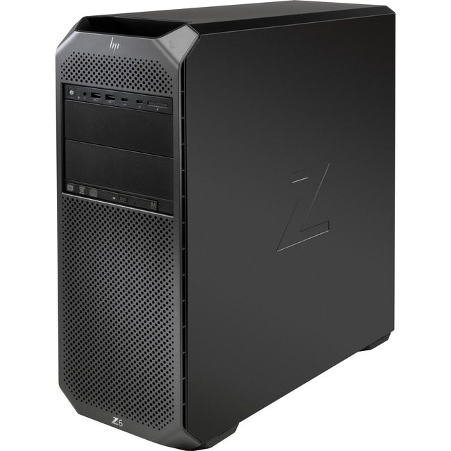 HP Z6 G4 Workstation - Xeon Silver 4214 - 32 GB RAM - 256 GB SSD - Mini-tower - Black
