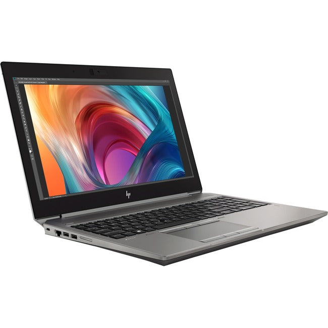 "HP ZBook 15 G6 15.6"" Mobile Workstation - 1920 x 1080 - Core i5 i5-9400H - 16 GB RAM - 16 GB Optane Memory - 256 GB SSD"