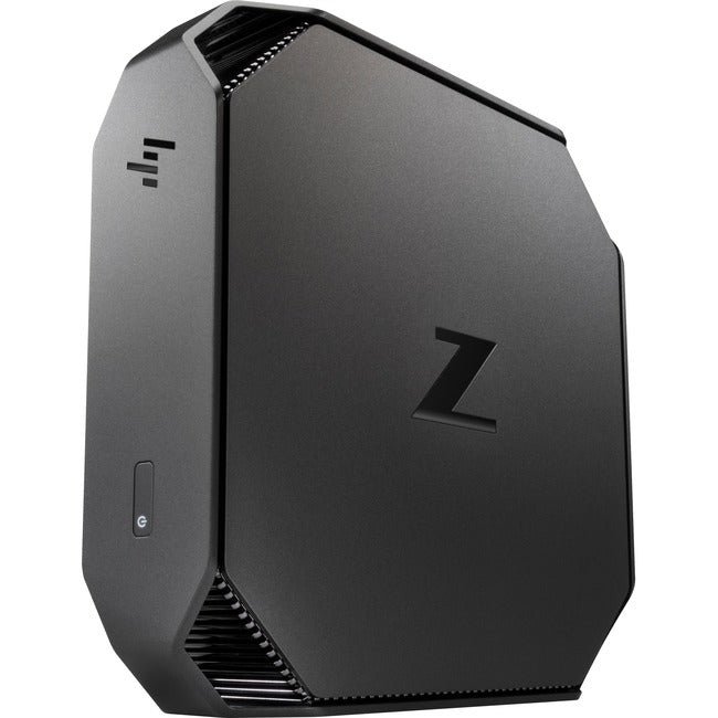 HP Z2 Mini G4 Workstation - 1 x Core i5 i5-9500 - 8 GB RAM - 1 TB HDD - Mini PC - Space Gray, Black Chrome Accent