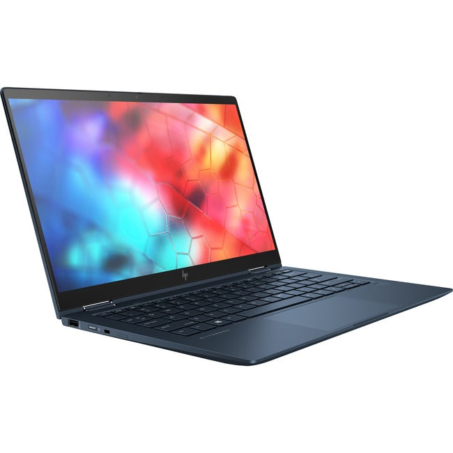 "HP Elite Dragonfly 13.3"" Touchscreen 2 in 1 Notebook - 1920 x 1080 - Core i5 i5-8265U - 16 GB RAM - 16 GB Optane Memory - 256 GB SSD - Blue"