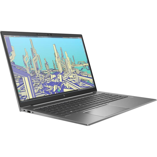 "HP ZBook Firefly 15 G7 15.6"" Mobile Workstation - Full HD - 1920 x 1080 - Intel Core i5 (10th Gen) i5-10210U Quad-core (4 Core) 1.60 GHz - 8 GB RAM - 256 GB SSD"
