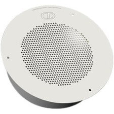 CyberData Ceiling Mountable, In-wall Speaker - Signal White