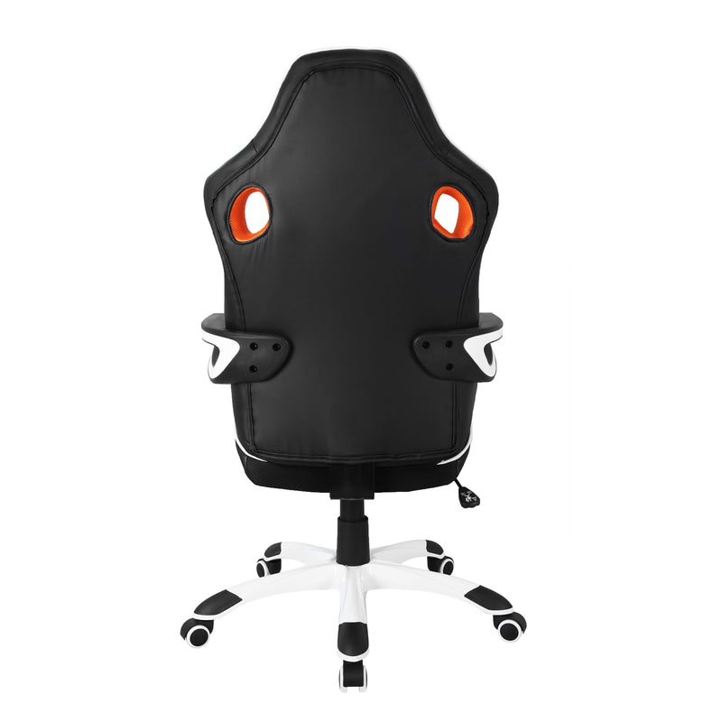 Black & White Racing Style Gaming Chair