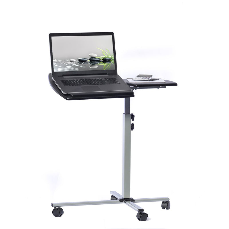 Rolling Adjustable Laptop Cart Desk