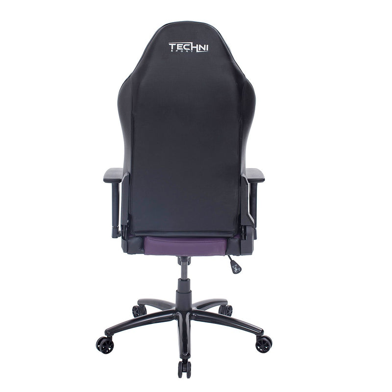 Purple & Black Comfort Plus Reclining Gaming Chair at Gaming Girlfriends