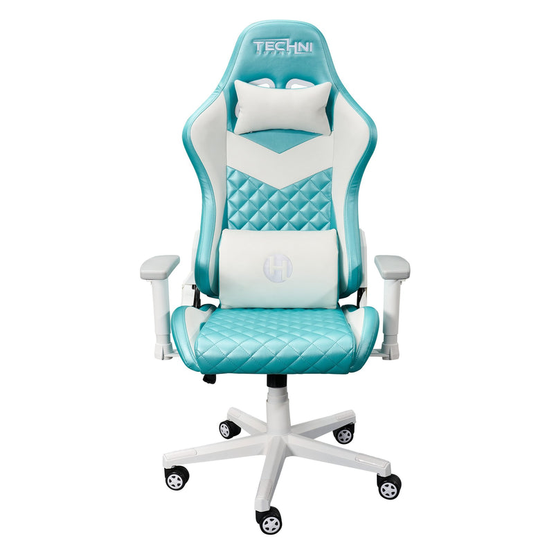Aqua LUXX Series Reclining Gaming Chair  at Gaming Girlfriends