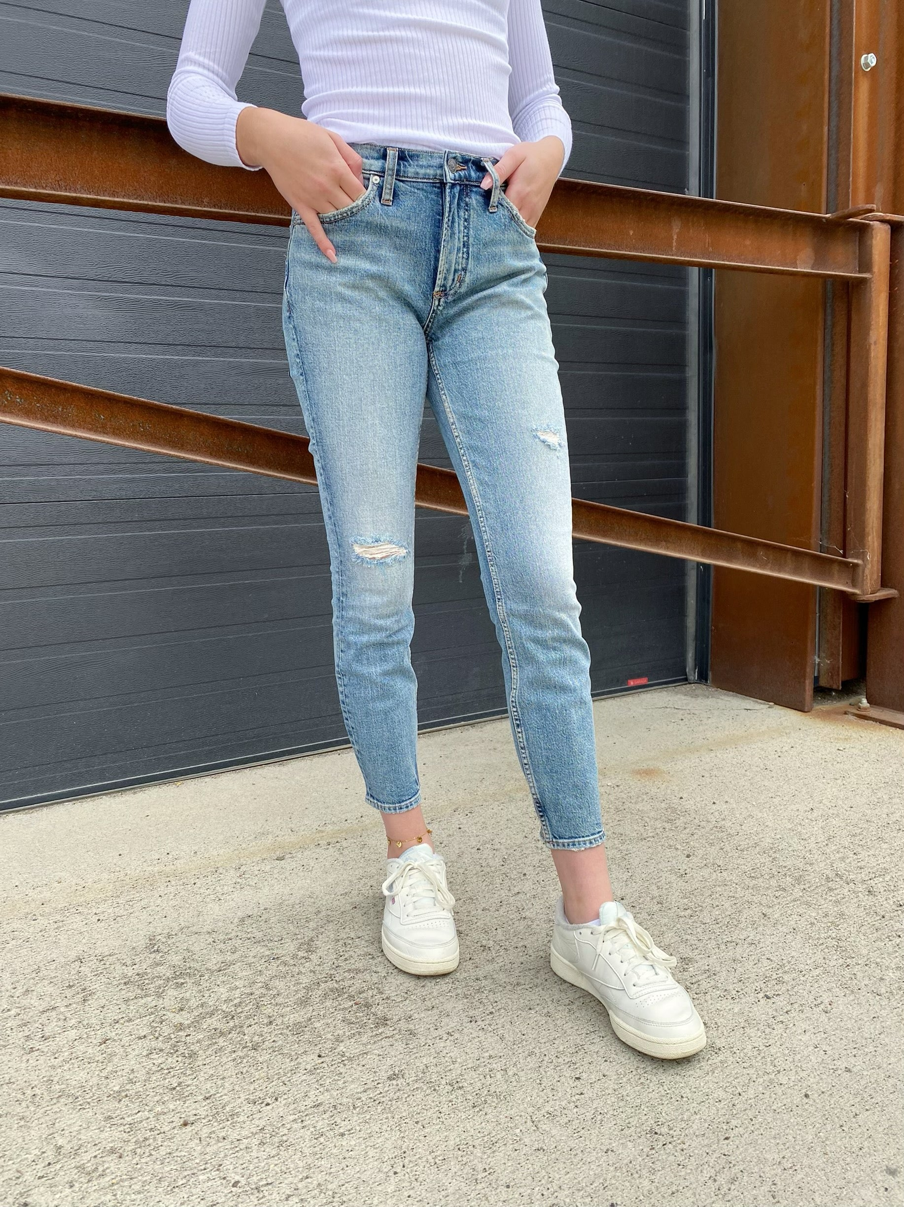 Not Your Boyfriend Slim Jeans