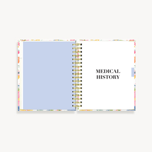 My Health Journal - Floral - My Health Journals
