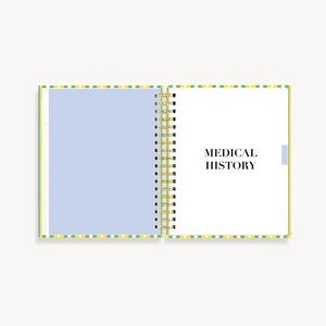 My Health Journal - Stripes - My Health Journals