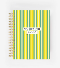 Load image into Gallery viewer, My Health Journal - Stripes - My Health Journals