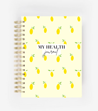 Load image into Gallery viewer, My Health Journal - Lemons - My Health Journals