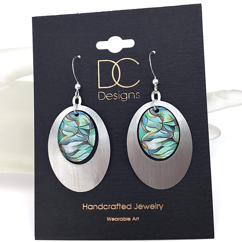 Abstract Art Earrings Utopianorthwest