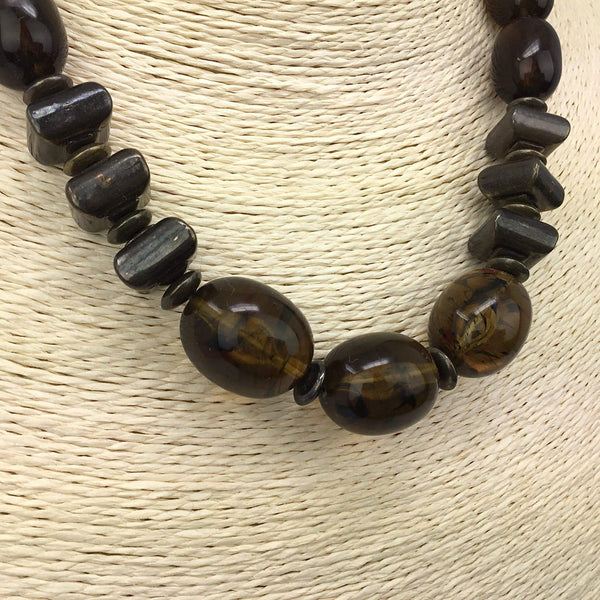 Amber Necklace- November's Birthstones Utopianorthwest