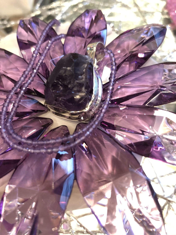 Amethyst Necklace Necklace Utopianorthwest