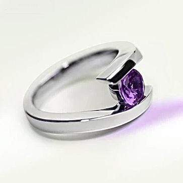 Amethyst Ring, February's Birthstone Utopianorthwest