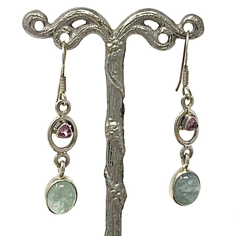 Aquamarine & Amethyst Earrings Utopianorthwest